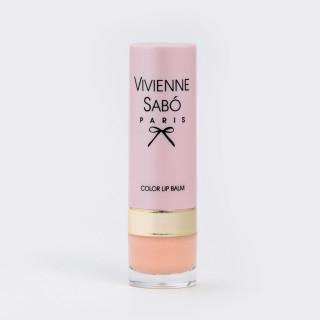 Vivienne Sabo Помада-бальзам 01 · Светло-бежевый Вивьен Сабо, Франция