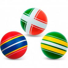 """Чебоксарский мяч 12,5см """"Яркие картинки"""", ручное окрашивание"""