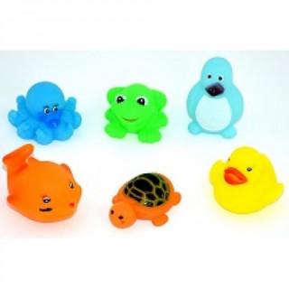 Бусинка Набор игрушек для ванной 6 шт