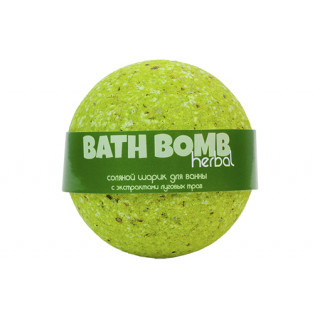 Savonry Соляной шарик для ванны Луговые травы, 120 гр