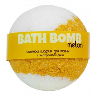 Savonry Соляной шарик для ванны Дыня, 120 гр