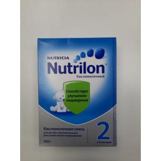 Nutrilon Premium Смесь Кисломолочный 2, 6мес+, 350 гр НОВЫЙ ФОРМАТ