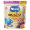 Nestle Каша Шагайка фигурками из пшеницы банан-манго-черная смородина, Мультизлаковая с Бананом, 12мес+, 190 гр