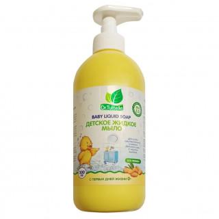 Dr. Tuttelle Детское жидкое мыло с Миндалем, 500 мл, 0мес+
