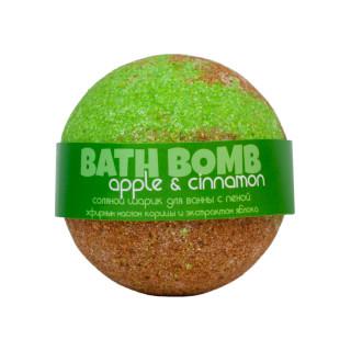 Savonry Соляной шарик для ванны Яблоко и Корица, 120 гр