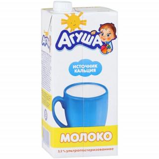 15.03.22 Агуша Молоко стерилизованное витаминизированное 3,2% 925 мл