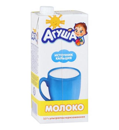 Агуша Молоко стерилизованное витаминизированное 3,2% 925 мл ДО ДЕКАБРЯ
