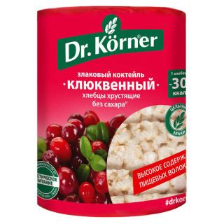Dr. Korner  Хлебцы Злаковый коктейль клюквенные, 100 г Корнер
