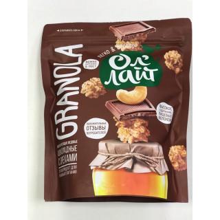 Ол'Лайт Мюсли запеченные с Шоколадом и Орехами, 280 гр