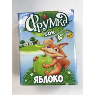 Фрумка Детский сок Яблоко, 4мес+, 200 мл - без сахара