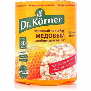 Dr. Korner  Хлебцы Злаковый коктейль медовый, 100г