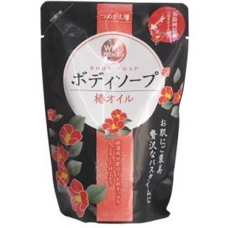 Nihon wins  Премиальное крем мыло для тела с маслом камелии, 400 мл - ЯПОНИЯ