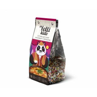Yelli Kids Детский Супчик Рисовый с Овощами, 100 гр, 6 порций
