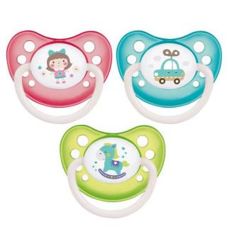 Canpol Babies Пустышка латекс  ортодонт, 6-18 мес, Toys