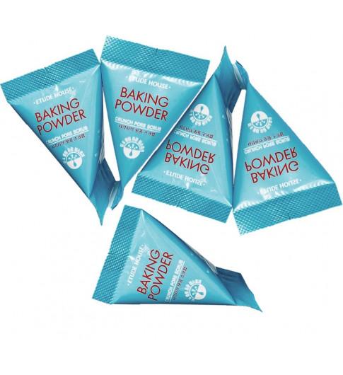 Etude House Скраб для лица в пирамидках с содой - очищает и сужает поры Baking Powder Crunch Pore Scrub 7 гр 1 шт - КОРЕЯ