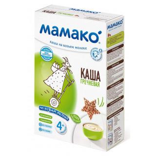 Мамако ГРЕЧНЕВАЯ каша на козьем молоке, 6мес+, 200 гр.