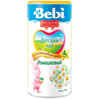 """Bebi Детский Чай """"Ромашковый"""" гранулированный, 200 гр, 6мес+"""