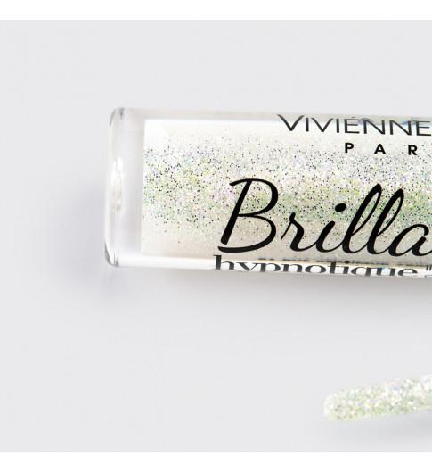 Vivienne Sabo Блеск для губ 27 · Прозрачный с розовым и серебряным глиттером, Вивьен Сабо Франция