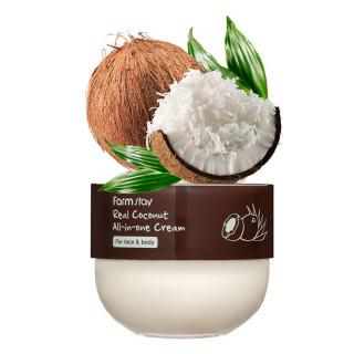 FarmStay Многофункциональный крем питательный с кокосом, 300 мл