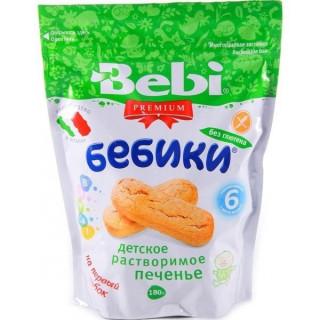 Bebi детское печенье БЕЗ ГЛЮТЕНА, 6мес+, 170 гр