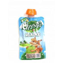 Фрумка Детское Пюре Яблоко, 4мес+, 90 гр - без сахара, пауч