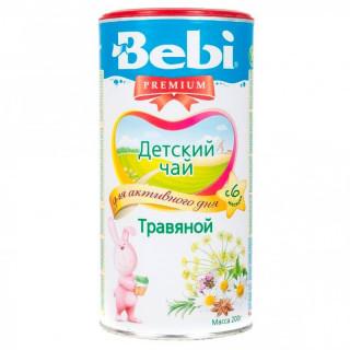 """Bebi Детский Чай """"Травяной"""" гранулированный, 200 гр, 6мес+"""