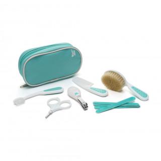 Roxy Kids Набор Гигиенический для малышей (массажная щетка, расческа, ножницы, зубная щетка массажер, щипчики, 5 пилочек, пенал)