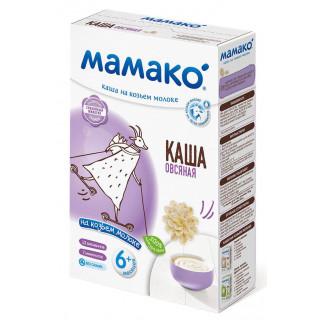 Мамако ОВСЯНАЯ каша на козьем молоке, 6мес+, 200 гр.
