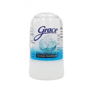 Grace кристальный алунитовый дезодорант, Тайланд, 70 г. - Натуральный