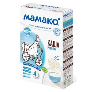 Мамако РИСОВАЯ Рисовая каша на козьем молоке., 6мес+, 200 гр.