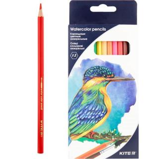 Карандаши цветные 12цв Kite акварельные шестигранные