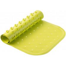 Roxy-Kids Антискользящий резиновый коврик для ванны 34,5x76 см -  салатовый