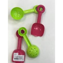 Рославльская игрушка Набор инструментов Лопатка, сито - 2 шт