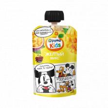Фрутоняня  пюре из яблок, бананов, абрикосов, манго и маракуйи «желтый микс», 90 гр  Без добавления сахара