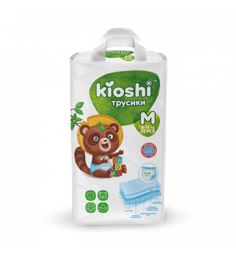 Kioshi Подгузники-трусики M (6-11 кг) 52 шт