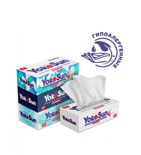 YokoSun  Бумажные гигиенические салфетки YokoSun детские, 200 шт.