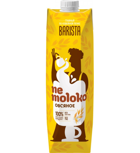 Nemoloko Овсяное Бариста, 1 литр - вместо молока
