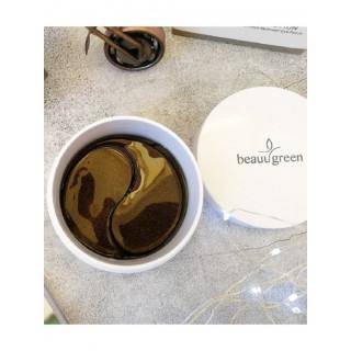 Beauugreen Гидрогелевые патчи с экстрактом морского огурца Sea Cucumber&Black Hydrogel, 60 шт