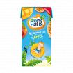 Фрутоняня Экзотический фрукт (яблоко, мандарин, ананас, персик, маракуя, манго,киви), без сахара, 200 мл - 8мес+
