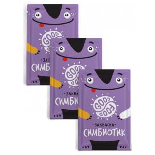 GOOD FOOD Закваска Симбиотик 1 пакетик: на 1-3 литра молока (восстанавливает микрофлору)