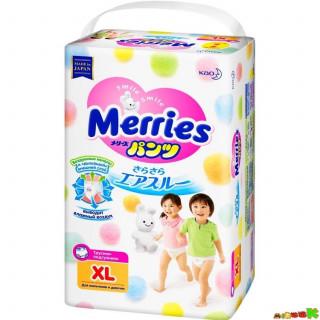 Merries подгузники-трусики, XL (12-22 кг), 44 шт  - 38+6 шт Мерриес