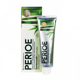 Perioe Зубная паста с бамбуковой солью для профилактики проблем с деснами, 120 г