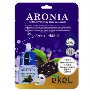 Ekel Увлажняющая маска с экстрактом Аронии 1 шт  Aronia Ultra Hydrating Essence Mask