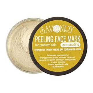 Savonry Кукурузный пилинг маска для проблемной кожи, 150 гр