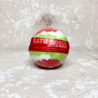Savonry Соляной шарик с маслами АРБУЗ, 120 гр