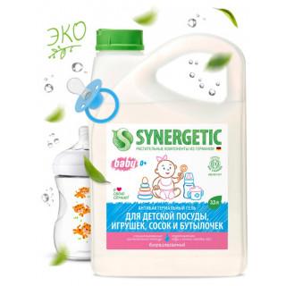 Synergetic Средство Биоразлагаемое для мытья посуды, сосок, бутылочек и игрушек,  3,5 л