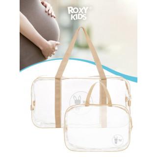 ROXY-KIDS Сумка в роддом прозрачная для беременной, 2 шт в комплекте от ROXY-KIDS