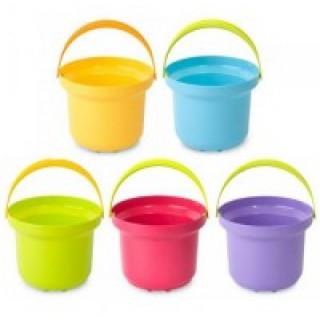Рославльская игрушка Детское ведро для песка 1 литр  - в ассортименте