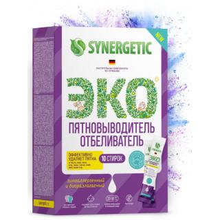 Synergetic  пятновыводитель-отбеливатель 10 стирок (для цветных и белых тканей)