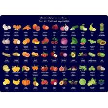 Покрытие настольное А3 Silwerhof Фрукты и овощи